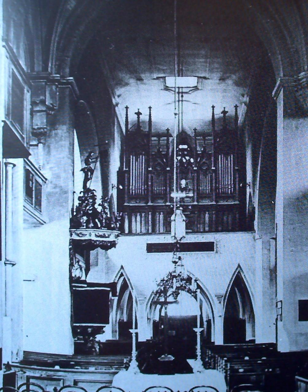 nach 1867, vor 1911 - Orgel