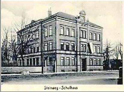 Schule - Steinweg/Schultesstraße - ca. 1914