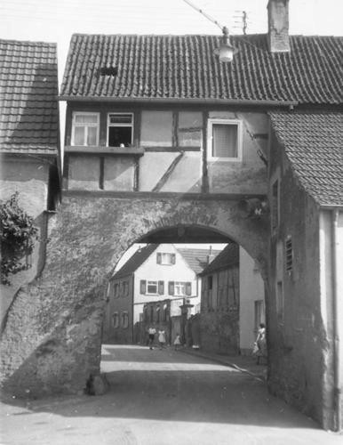 Schwebheimer Tor früher - Danke an Michl Kupfer