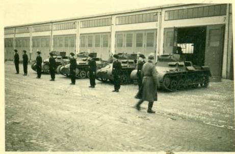 Panzerregiment Stab 4 - später Ledward-Kaserne
