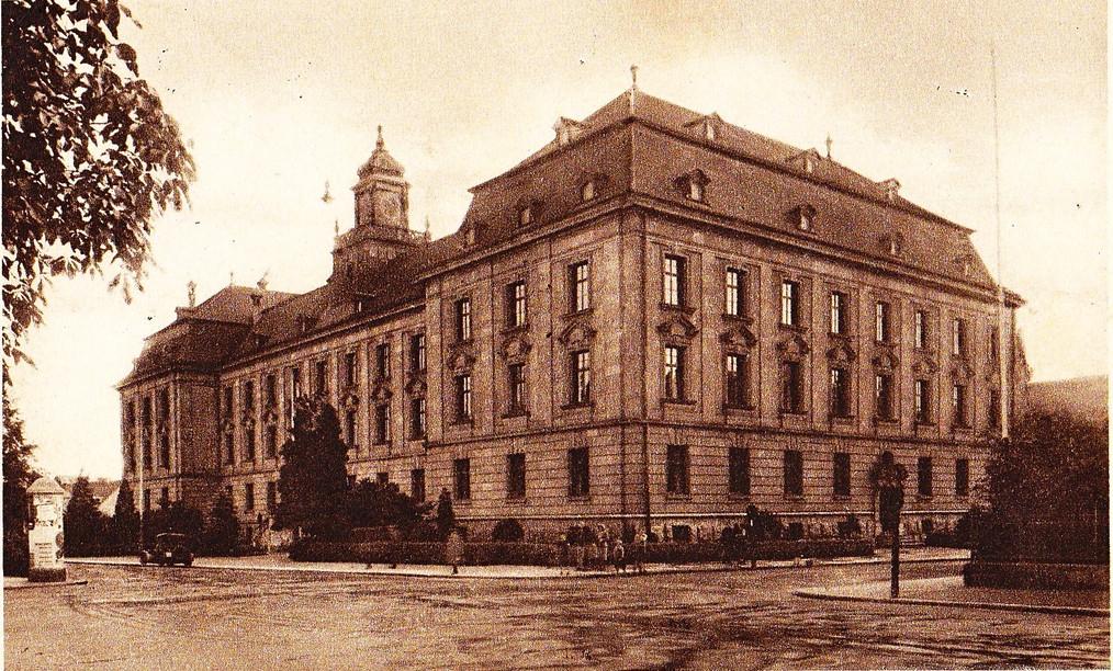 Justizgebäude Schweinfurt um 1933