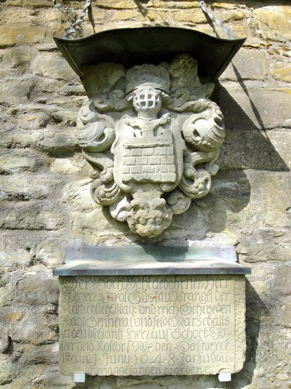 Das Wappen Wrangels am Oberen Ostwalll