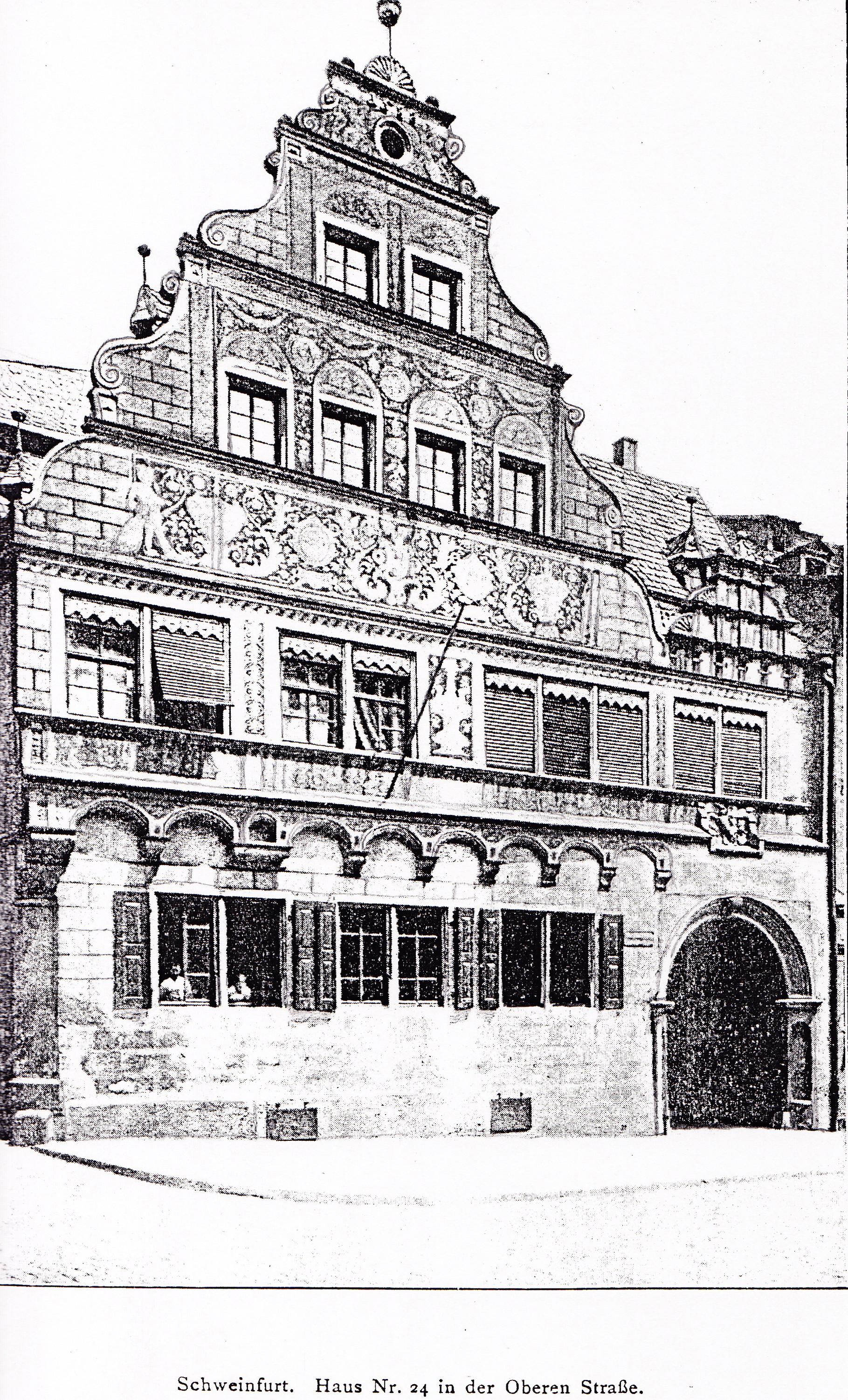 Geschichte des Hauses Obere Straße 24 (Schopperhaus ...