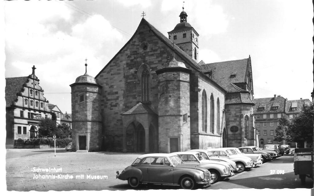 St. Johanniskirche in den 50ern - Danke Michael Kupfer