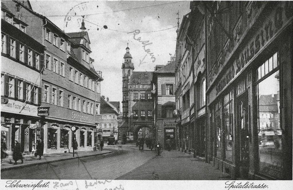 Spitalstraße ca. 1931