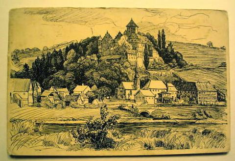 Schloss Mainberg um 1911