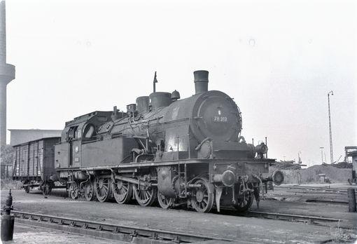 78 313 im Bw Schweinfurt 1964