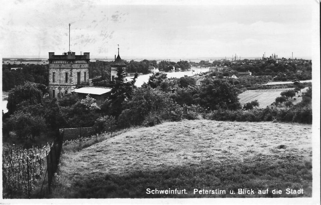 Peterstirn mit Blick auf die Stadt 1929 - Danke Michael Kupfer