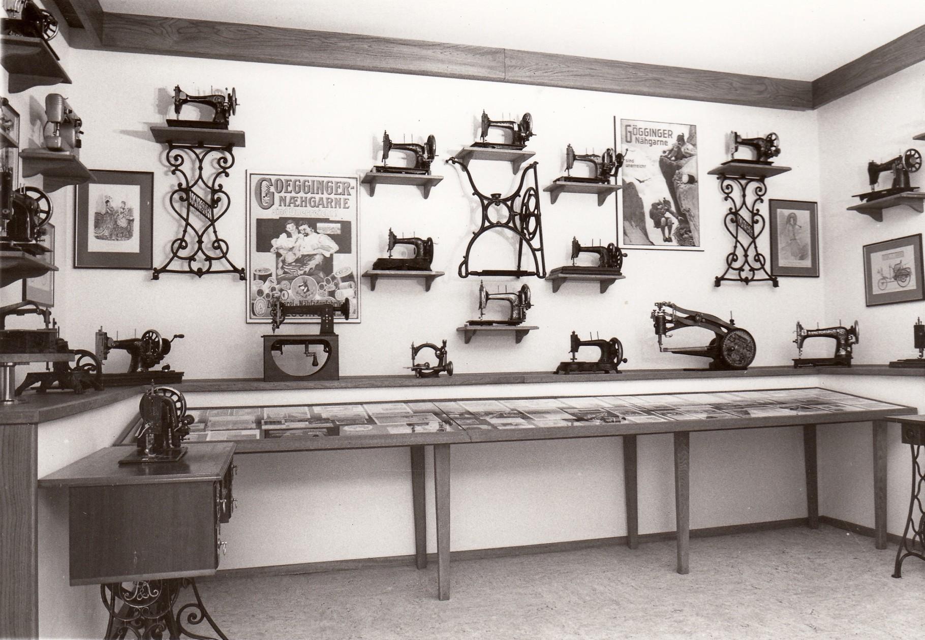 Nähmaschinenmuseum 1978