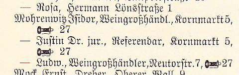 Adressbuch 1932
