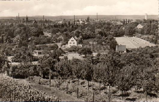 Blick von der Peterstirn in den 1950ern