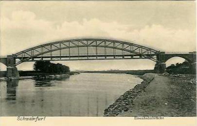 Die Eisenbahnbrücke 1915