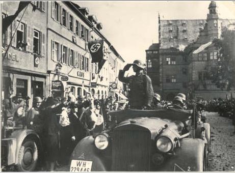 Panzerabteilung 49 kehrt 1940 von der Front zurück