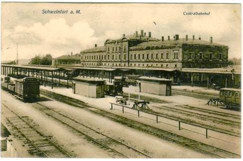 Hauptbahnhof 1908