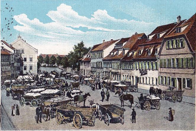 Kornmarkt um 1904