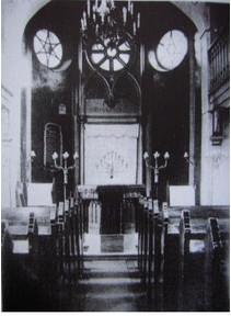 Die Synagoge vor ihrer Zerstörung