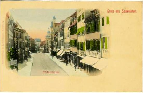 Spitalstraße um 1900