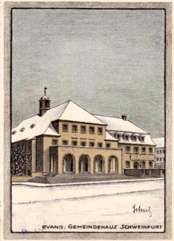 Evang. Gemeindehaus 1924