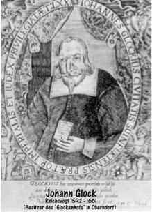 Reichsvogt Johann Glock