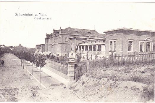 Das Städt. Krankenhaus 1909