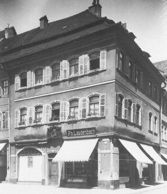 Rückerthaus - Markt 2 - 1925 - Danke an Peter Hösel