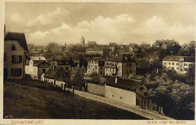 Blick vom Teilberg ca. 1930