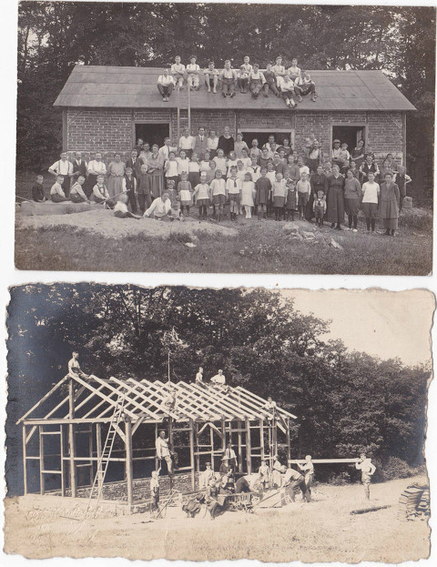 Bau des Vereinsheims 1920