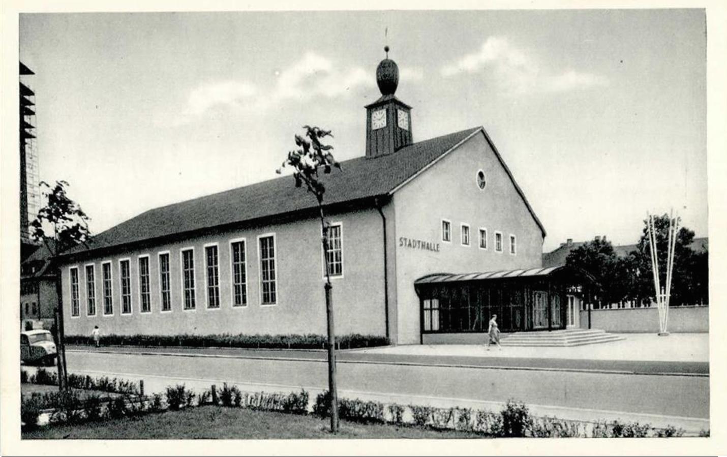 1950 - Stadthalle in der Friedrich-Ebert-Straße