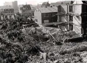 Landwehrstraße 18 - Kriegszerstörung - Danke an Peter Hösel