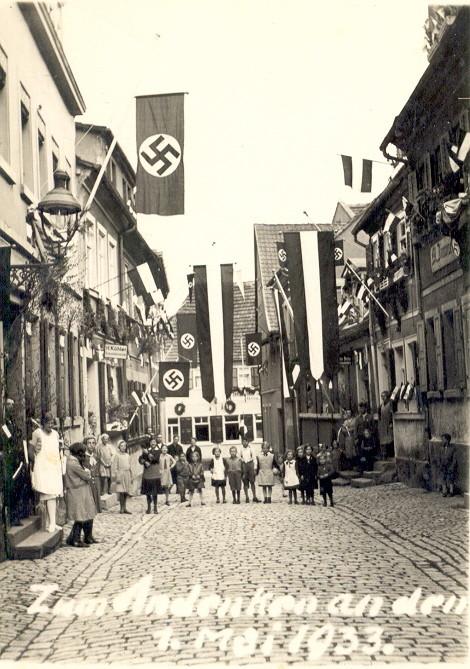 Judengasse 01. Mai 1933