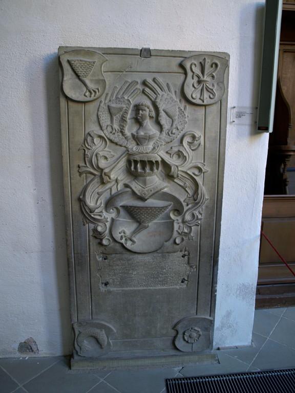 Wappen der Grabplatte von der Kere ca. 1500