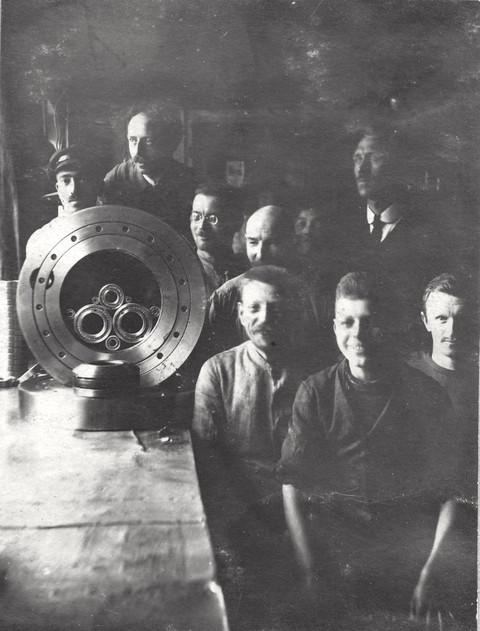 Mitarbeiter im Jahr 1914
