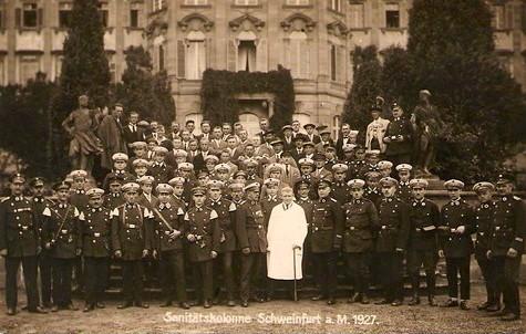 Sanitätskolonne 1927