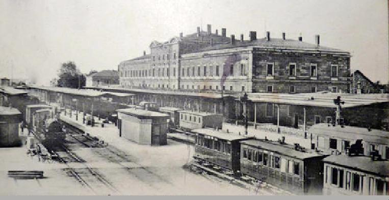 Der Hauptbahnhof um 1906