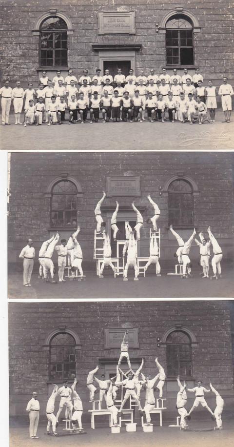 Turnerriege des Gymnasiums 1920