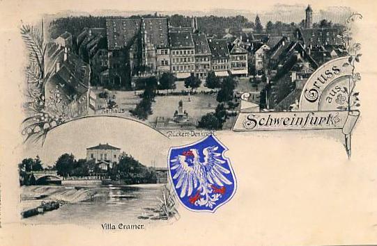 Variante mit Schweinfurtwappen