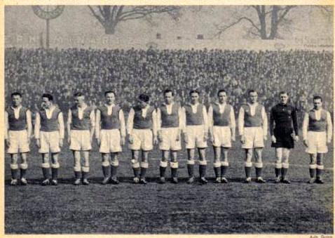 Schweinfurt 05 ca. 1939 mit Latz, Kitzinger, Niederhausen, Gorsky, A. Kupfer, Spitzenpfeil, Bätz, Baier, Meining, Stumpf, Rühr