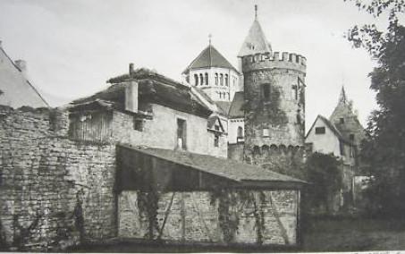 Diese Partie gegenüber dem Justizgebäude wurde wegen Bau des heutigen Gebäudes des Kaufhofes (damals Horten) abgerissen - der letzte große städtebauliche Abrissfehler in Schweinfurt - hoffentlich!