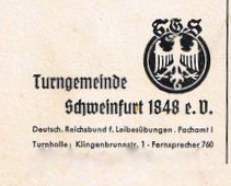 Ausschnitt aus Postkarte 1946