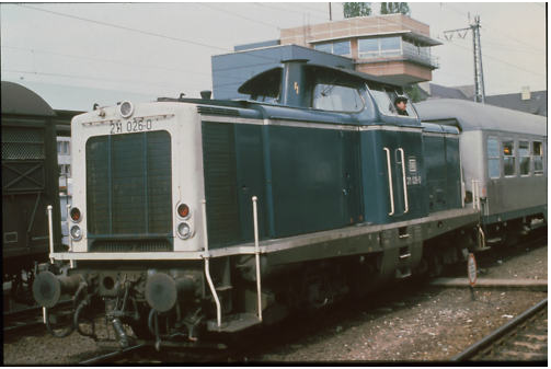 DB 211 026 Schweinfurt 7.5.1987