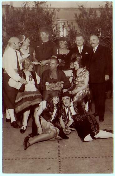 Fasching Ende der 1920er/Anfang1930er