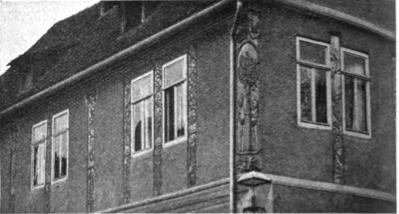 Das Apostelhaus um 1906