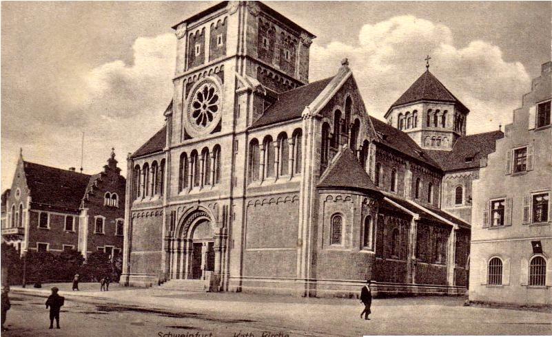 ca. 1904 - noch mit kurzem Turm