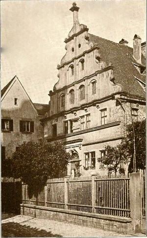 Altes Gymnasium um 1930