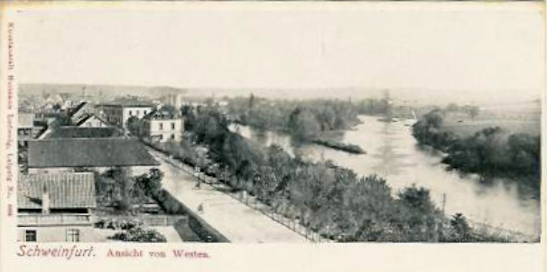 Bahnhofstr. um 1900