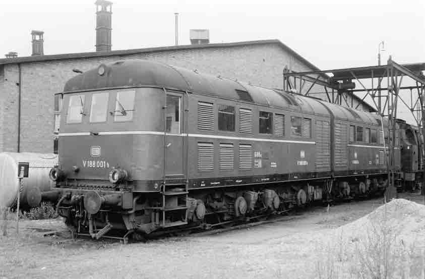 Diesellok DB V188