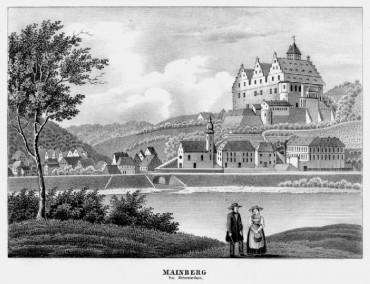 Lithographie von J.B. Dilger 1838
