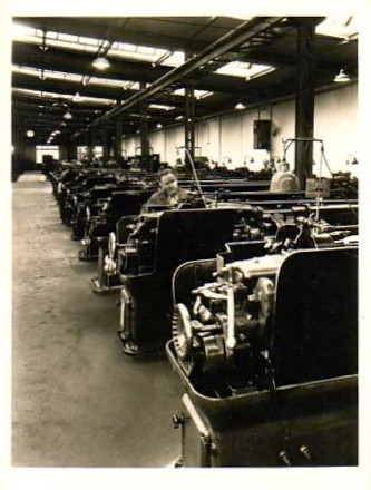 Im Betrieb um 1950