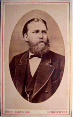 Lehrer Reuther gest. 1881