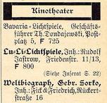 Adressbuch 1925